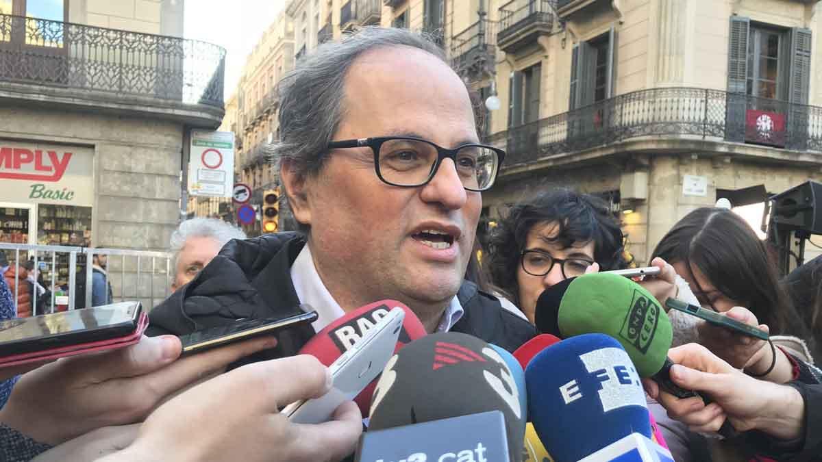 Quim Torra. (Foto: Europapress) | Última hora Cataluña