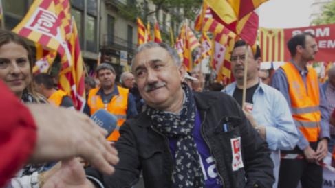 Pepe Álvarez, máximo dirigente de UGT.