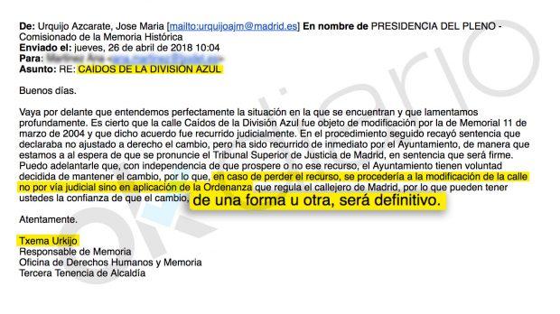 La carta de UGT Cataluña apoyando se elaboren listas de profesores según su ideología