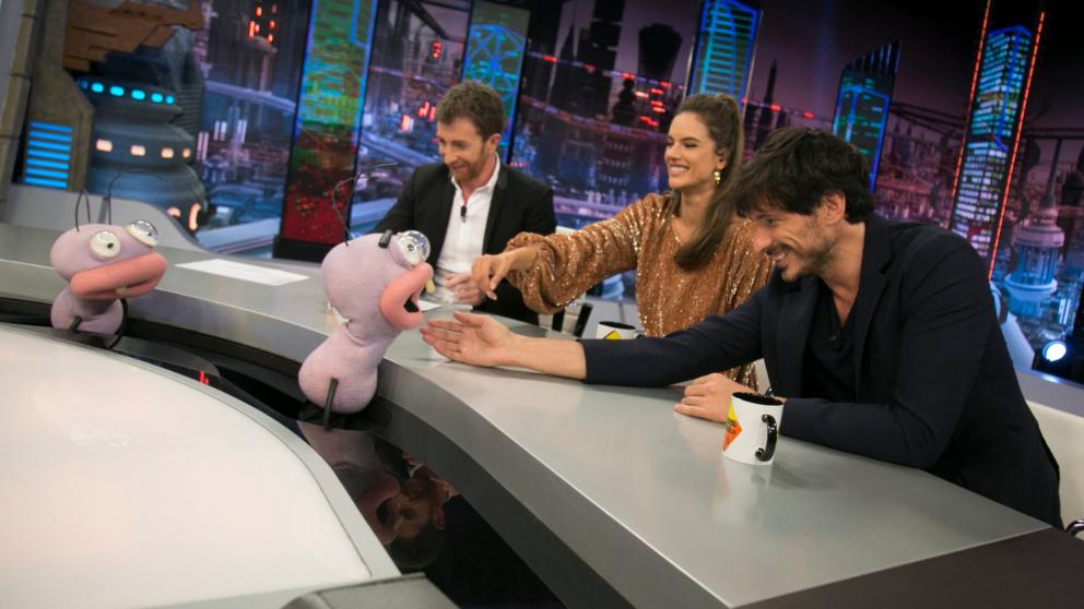 Los modelos han pasado un buen rato en 'El Hormiguero'. (Foto: Antena 3)