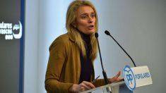 Ana Morales, portavoz del PP en las Cortes de Álava.