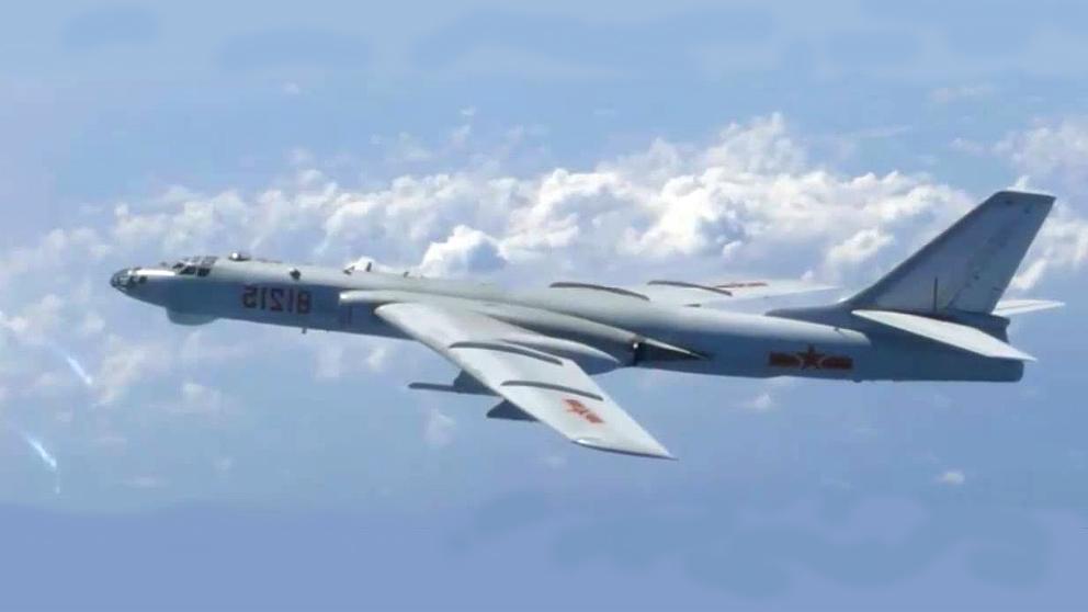 China ha enviado bombarderos H-6K al espacio aéreo de Taiwán.
