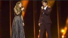 Amaia y Alfred en 'Eurovisión 2018'. (Foto: RTVE)