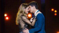 Amaia y Alfred han apostado por una puesta en escena sencilla para 'Eurovisión 2018'