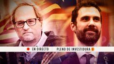 Investidura de Quim Torra en el Parlament de Cataluña | Pleno del Parlament en directo