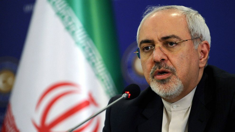 Mohamad Javad Zarif, ministro de Exteriores de Irán.