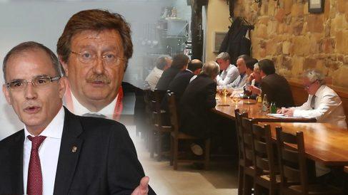 Juan Luis Larrea cenó con Marcelino Maté, presidente de la Gestora de la RFEF.
