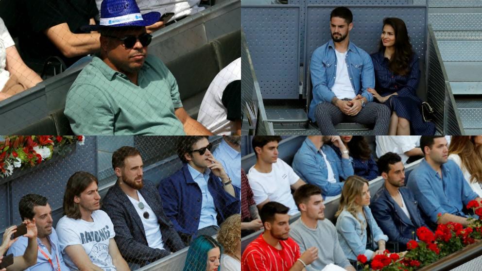 Los deportistas que no se perdieron el Madrid Mutua Open.