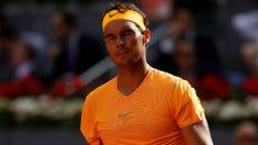 Rafa Nadal, tras la derrota ante Thiem. (EFE)
