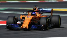 Fernando Alonso con el McLaren MCL33