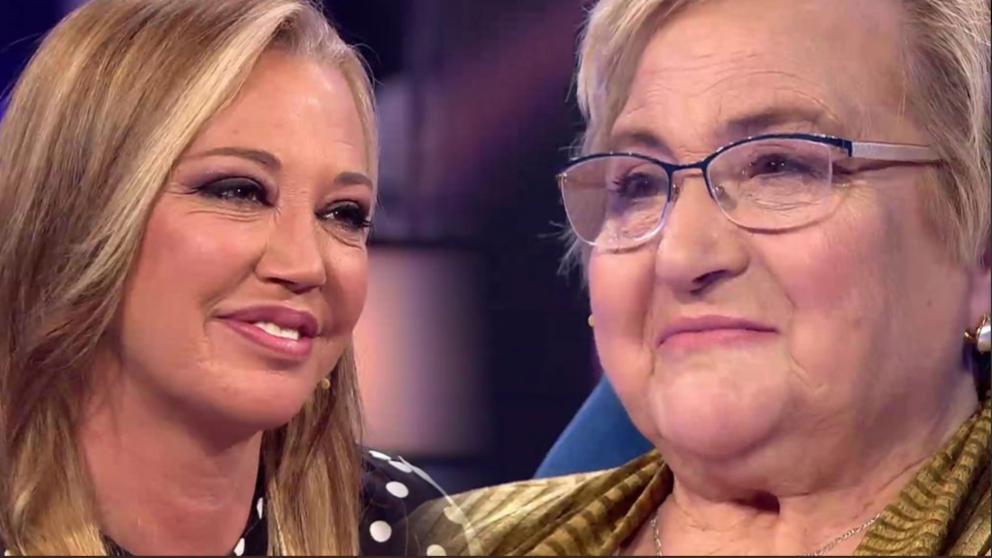 Belén Esteban invitada especial en 'Volverte a ver. (Foto: Telecinco)
