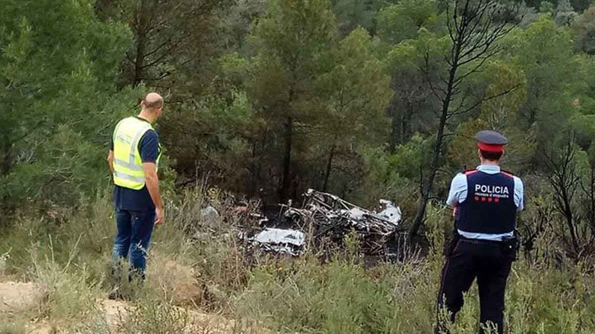 Accidente de avioneta en Tarragona.