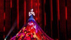 El vestido de Estonia toda una sensación en 'Eurovisión 2018'