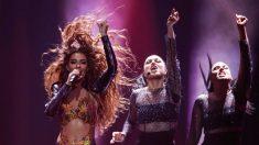 Eleni Foureira es la principal favorita para la victoria en 'Eurovisión' esta noche. (Foto: RTVE)