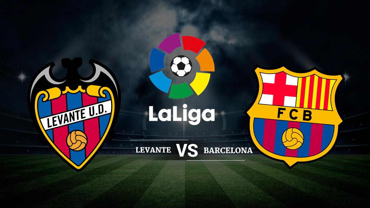 Levante – Barcelona: Horario y dónde ver el partido de Liga Santander.