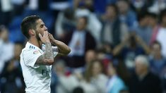 Isco celebra un gol. (AFP)