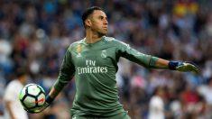 Keylor, durante un partido con el Real Madrid. (EFE)