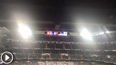 El público del Santiago Bernabéu aplaudió a Gareth Bale cuando fue sustituido en el Real Madrid – Celta.