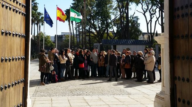 Pleno en el Parlamento de Andalucía