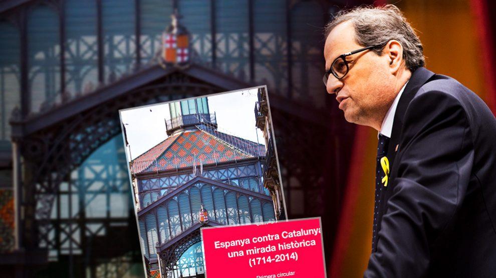 El candidato a presidente de la Generalitat Quim Torra.