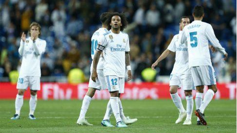 El Real Madrid se despide del Bernabéu. (AFP)