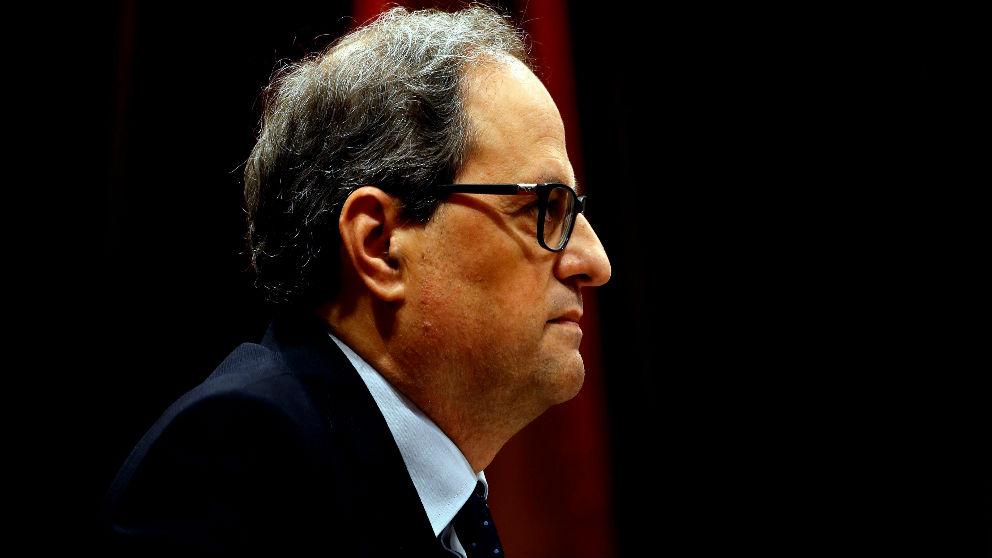 El presidente de la Generalitat, Quim Torra (FOTO:EFE)