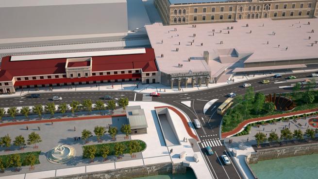 Fomento anuncia este lunes la adjudicación del proyecto de 90 millones de euros de la estación del TAV en San Sebastián