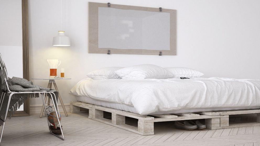 C mo hacer una cama con palets - Hacer cama con palets ...
