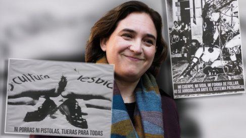 La nueva exposición de Colau en las bibliotecas públicas de Barcelona: genitales y sodomía