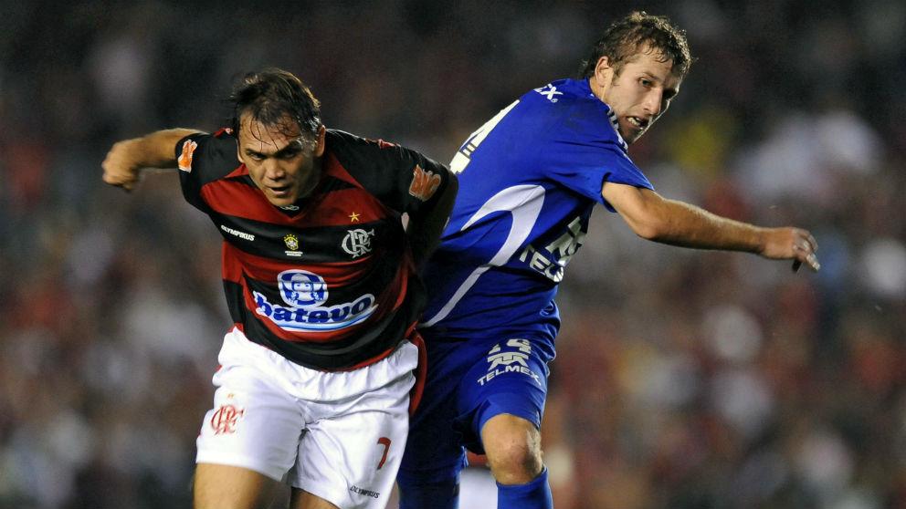Petkovic durante su etapa en el Flamengo. (AFP)