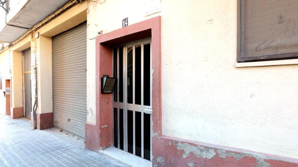 Fachada del edifico en el que se produjo el asesinato (Foto: Efe).