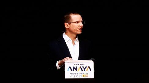 El candidato mexicano Ricardo Anaya.