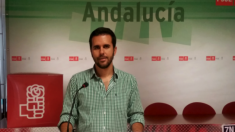 Francisco Calderón, secretaraio general del PSOE local en Antequera