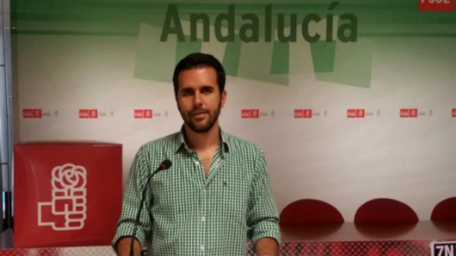 Francisco Calderón, secretaraio general del PSOE local en Antequera