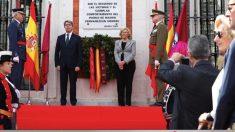 Manuela Carmena en la Puerta del Sol el pasado 2 de Mayo. (Foto. Madrid)