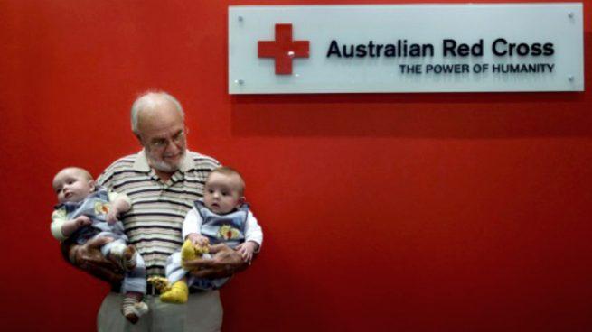 El raro anticuerpo de la sangre de un donante salva a dos millones de bebés