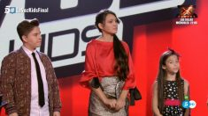 Jeremai, Flori y Melani, los finalistas de 'La Voz Kids'