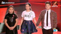 Finalistas del equipo de Rosario en 'La Voz Kids'
