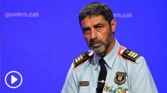 El exmayor de los Mossos d'Esquadra, Josep Lluís Trapero. (Foto: AFP)