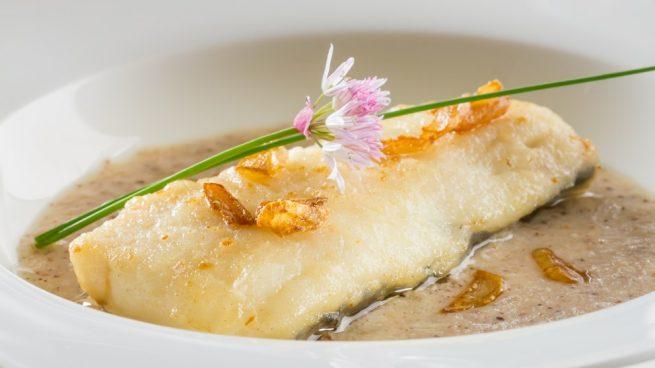 merluza en salsa de soja