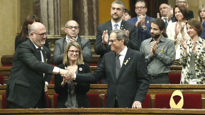 Los diputados suspendidos por Llarena no renunciarán al acta: decidirá el Parlament