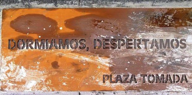 Carmena aún no ha colocado la placa del 15M en Sol que prometió tener para 2016