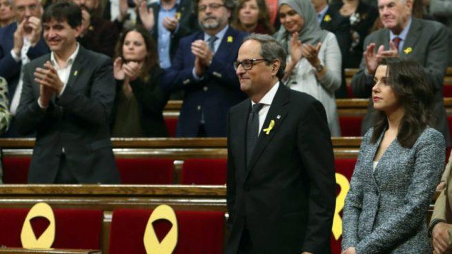 Torra visitará el viernes a los políticos presos como 'president' como avanzó OKDIARIO