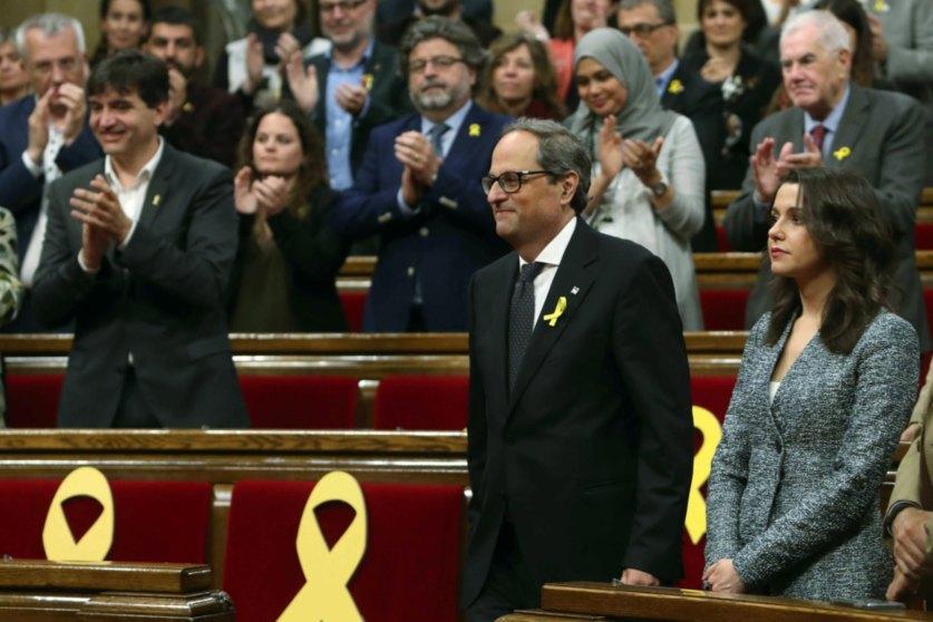 El presidente catalán, Quim Torra.
