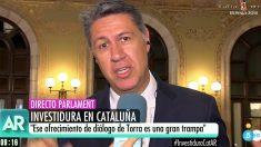 Xavier García Albiol en 'El programa de Ana Rosa'. | Investidura Quim Torra