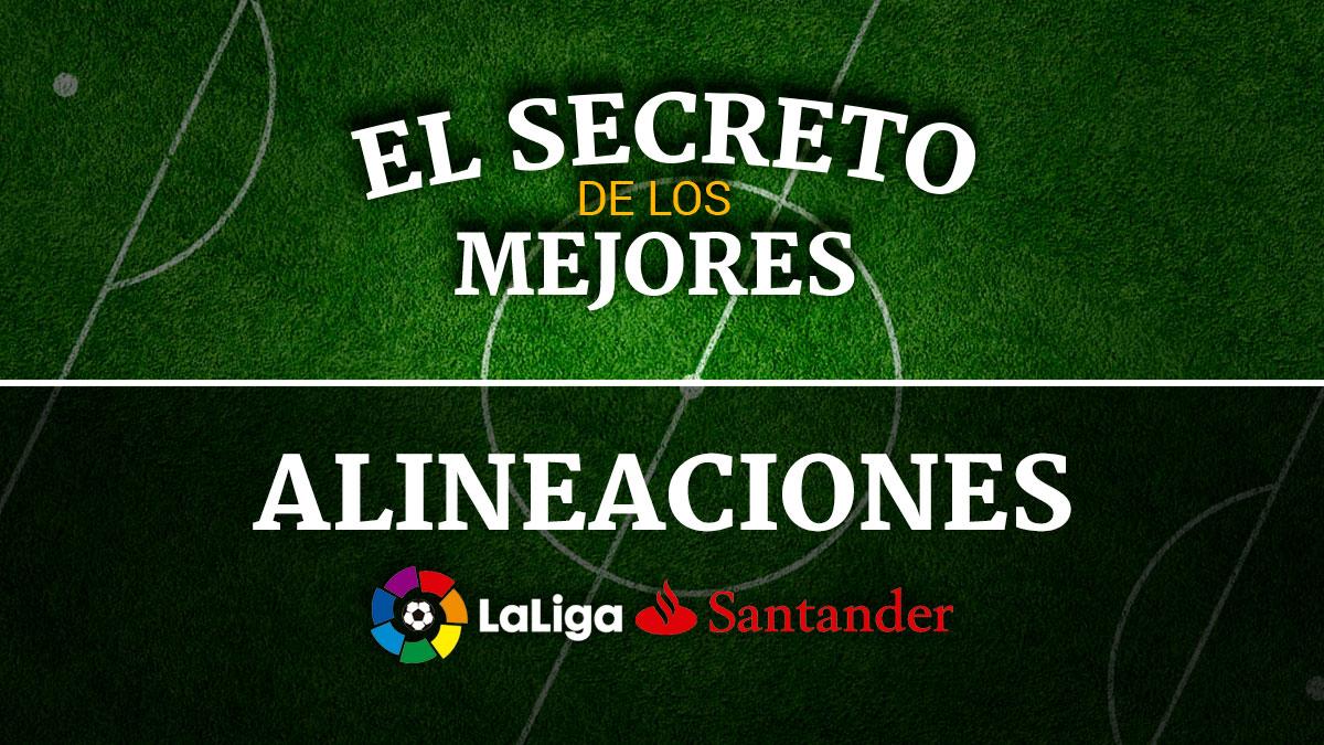 Descubre la última hora de la posibles alineaciones de la jornada 38 de los equipos de LaLiga Santander.