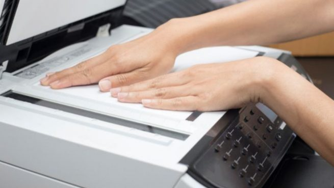 limpiar un escaner