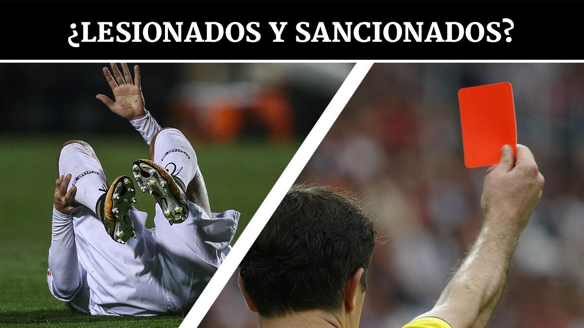 lesionados-sancionados-liga-santander-jornada-38