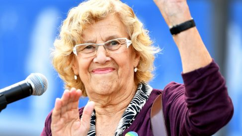 Manuela Carmena, alcaldesa de Madrid. (Foto: AFP)
