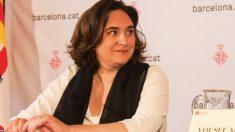 Ada Colau en rueda de prensa. (Foto. Barcelona)